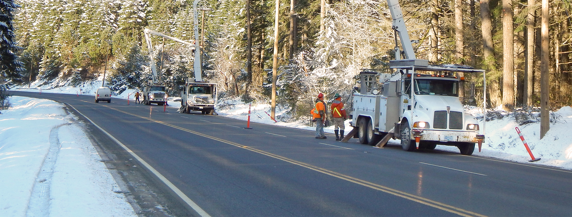 Powerline Installation, Repair and Maintenance Services on Vancouver Island and the Gulf Islands